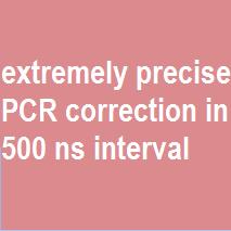 500 ns PCR corrector
